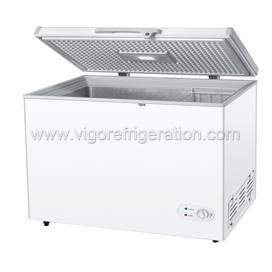 358L solar/DC freezer for household