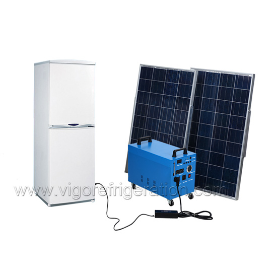 175L solar refrigerator for household