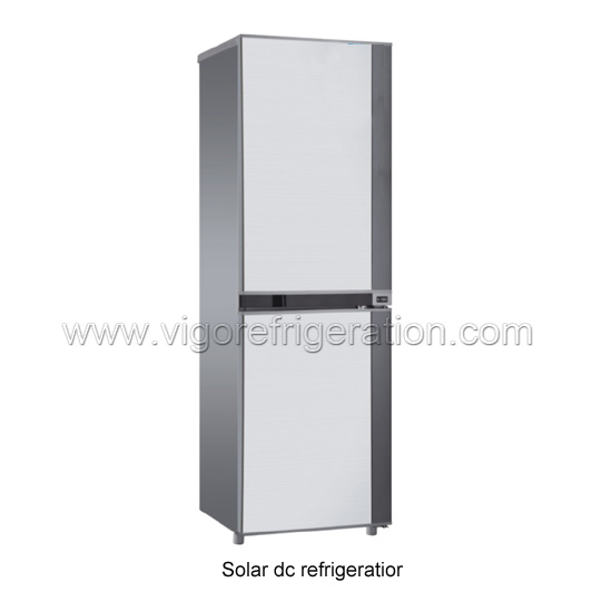 350L solar refrigerator for household