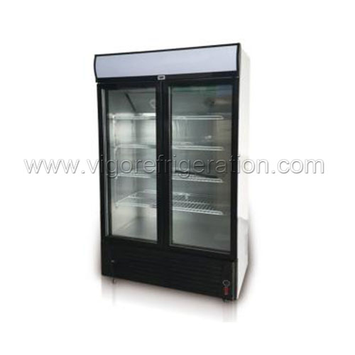468L DOUBLE DOOR DISPLAY COOLER